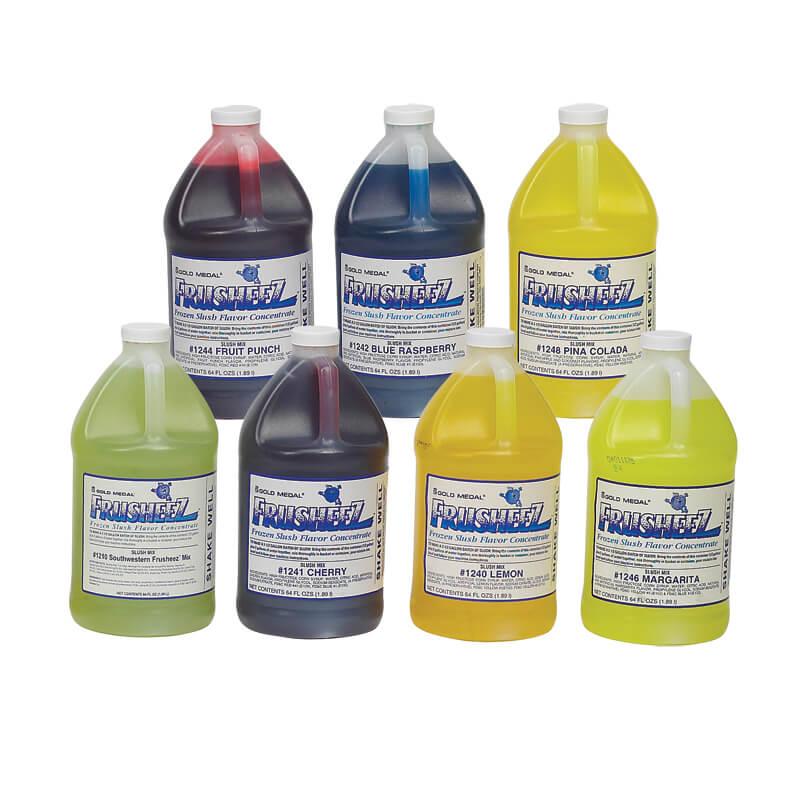 Mix, Frusheez, orange, 1/2 gallon yields 2.5 gallons