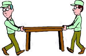 Tables, Labor (setup/takedown)