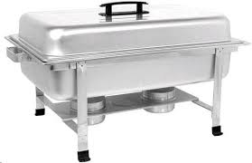Chafing Dish, 8 Quart, Includes 2 Sterno